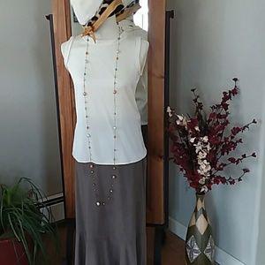 FINAL PRICE! Gorgeous Sleeveless Silk Top
